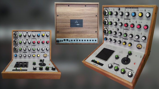 Behringer VCS 3 first pictures