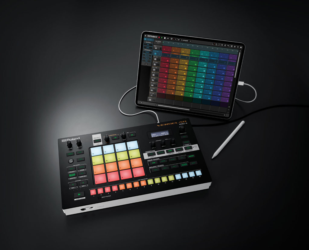 Roland Verselab MV-1 ipad