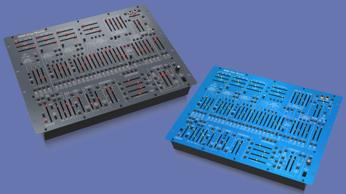 Behringer 2600 Blue Marvin Gray Meanie