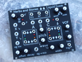 Herbs and Stones Liquid Foam Eurorack
