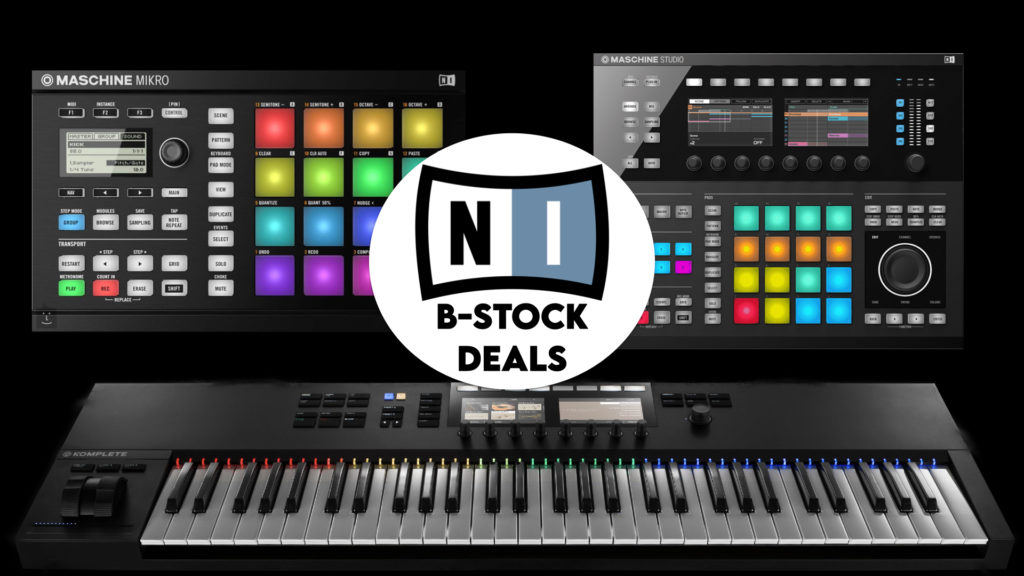 Native Instruments B-Stock Sale
