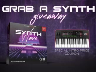 IK Multimedia Grab A Synth Giveaway