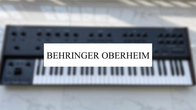 USPTO Rejects Behringer Oberheim