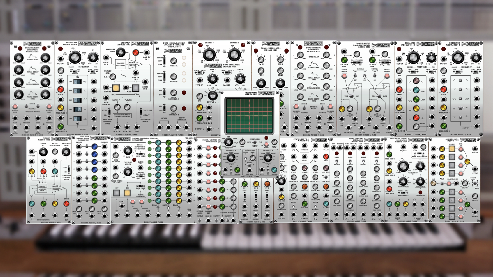 Cherry Audio VM2500 Collection, ARP 2500 Modules For Voltage Modular For $49