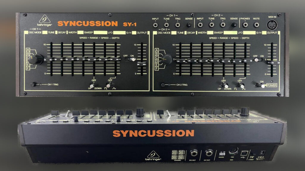 Behringer Syncussion SY-1