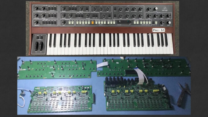 Behringer Pro-16 multi-timbrality