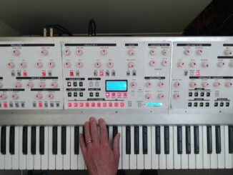 Chris synths polyphonic analog synthesizers